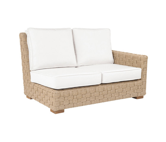 St. Barts Sectional Right Arm Facing Settee de Kingsley Bate | Sofás