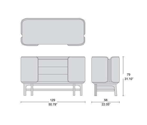4220 commode de Tecni Nova | Buffets / Commodes