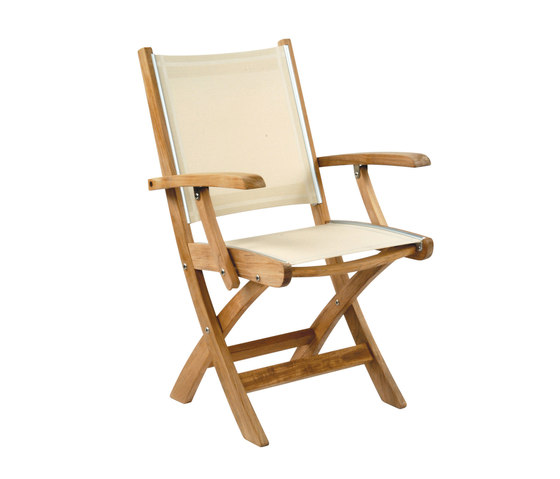 St. Tropez Folding Armchair by Kingsley Bate | Chairs