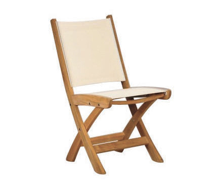 St. Tropez Folding Side Chair by Kingsley Bate | Chairs
