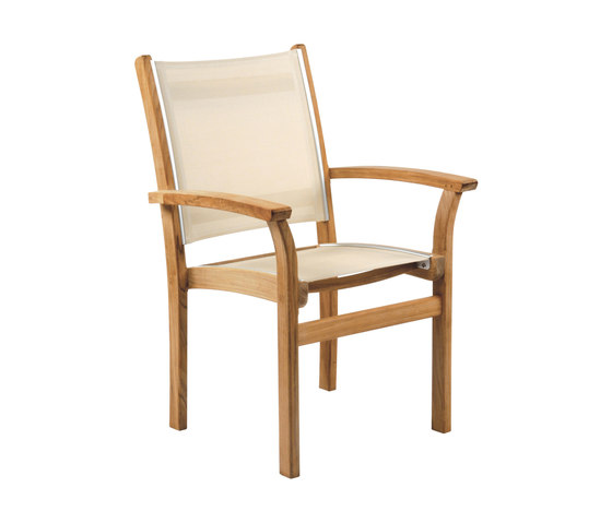 St. Tropez Stacking Armchair by Kingsley Bate | Chairs