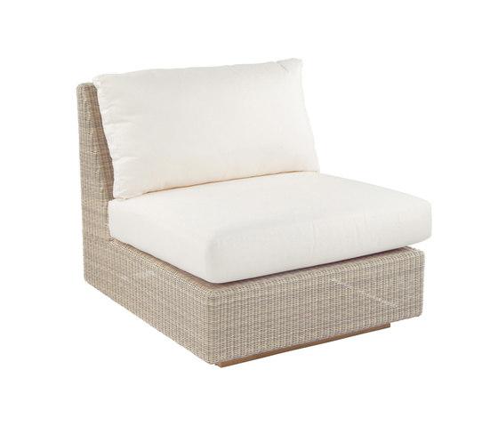 Westport Sectional Armless Chair de Kingsley Bate   Sillones