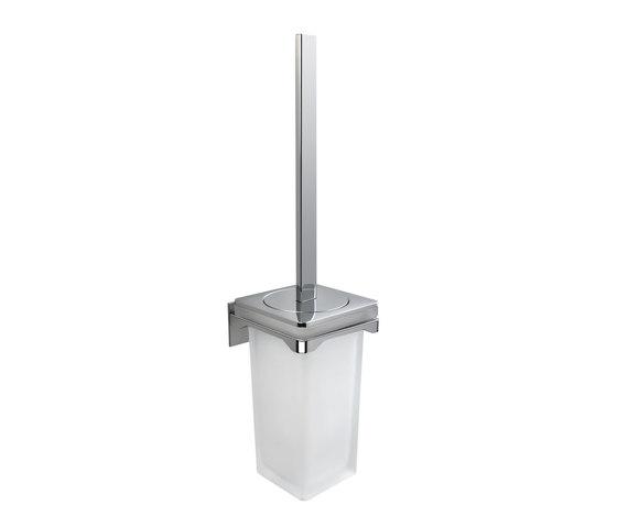 Hanging brush holder by COLOMBO DESIGN   Toilet brush holders