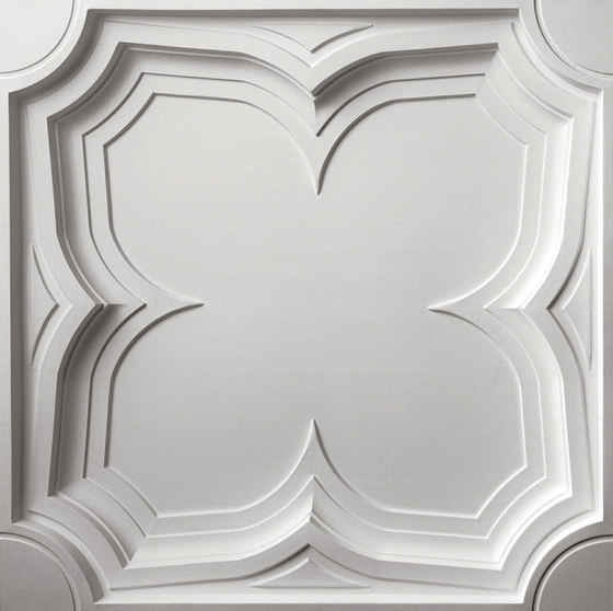 Gothic Coffer Ceiling Tile by Above View Inc | Mineral composite panels