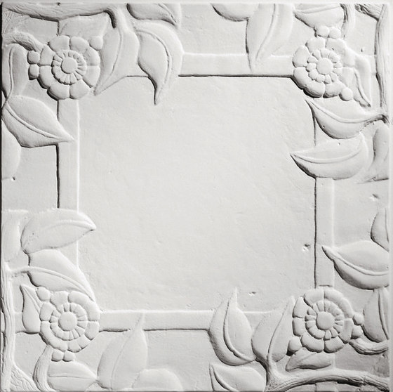 Spanish Rose Blank Center Ceiling Tile de Above View Inc | Compuesto mineral planchas