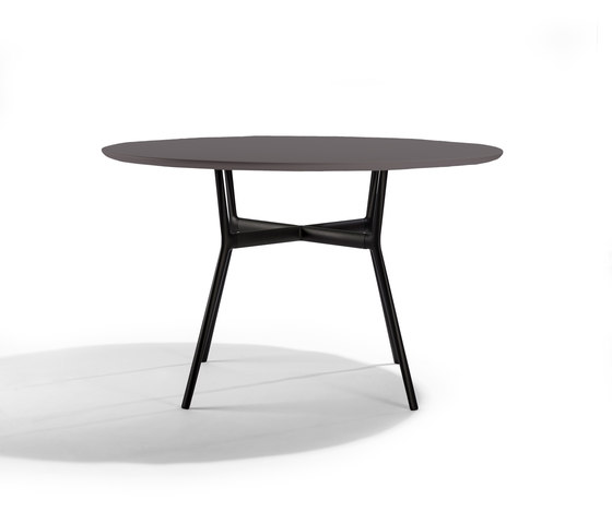 Branch Outdoor Table Round by Tribù | Bistro tables