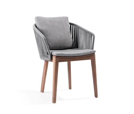 Mood Dining Chair | Wengé by Tribù | Chairs