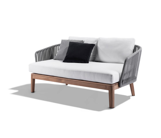 Mood Outdoor Sofa | Wengé von Tribù | Gartensofas