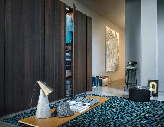 Armadio Naica | Coplanar doors by LEMA | Cabinets
