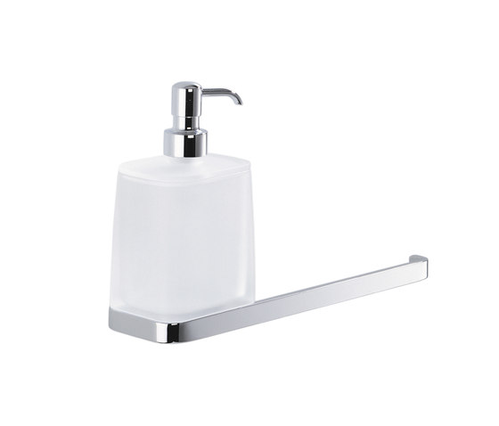 Soap dispenser and towel holder by COLOMBO DESIGN | Towel rails