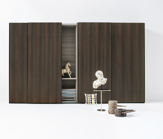 Armadio Text | Sliding door by LEMA | Cabinets