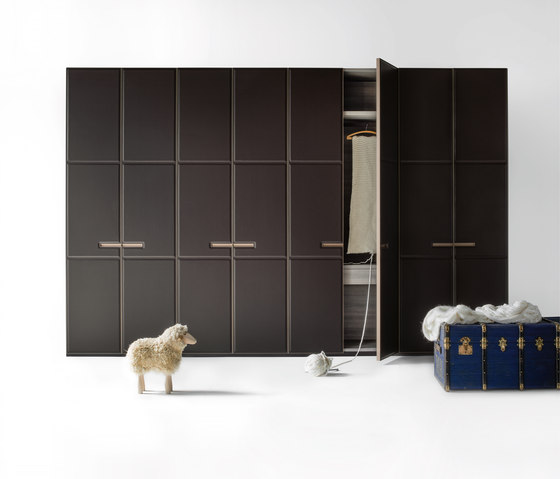 Armadio Warm | Hinged door by LEMA | Cabinets