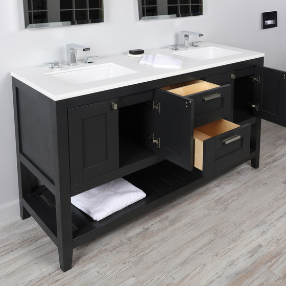 Stile Undercounter Vanity H285 de Lacava | Armarios lavabo
