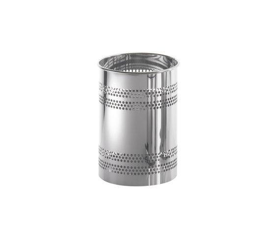 Cestino gettacarte - acciaio inox di COLOMBO DESIGN | Pattumiere