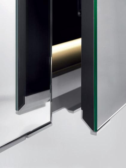Quattro.Zero Specchio contenitore di Falper | Armadietti parete