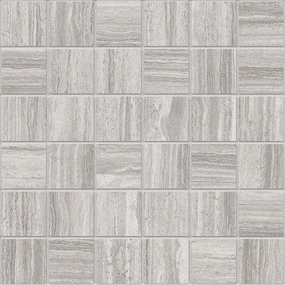 Marstood | Marble 02 | Silver Travertine Mosaic matt von TERRATINTA GROUP | Keramik Mosaike