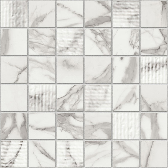 Marstood | Marble 01 | Statuario Mosaic Mix von TERRATINTA GROUP | Keramik Mosaike