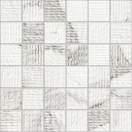 Marstood | Marble 01 | Statuario Mosaic rigato di TERRATINTA GROUP | Mosaici ceramica