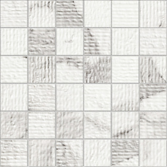 Marstood | Marble 01 | Statuario Mosaic rigato de TERRATINTA GROUP | Mosaicos de cerámica