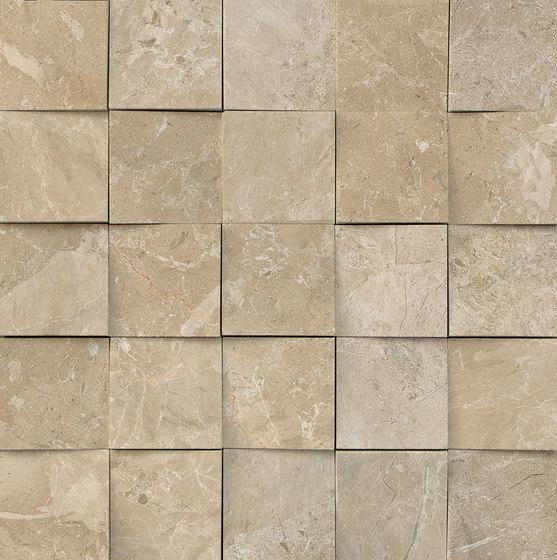 Mosaico 3D Opera Beige JW 10 by Mirage | Ceramic tiles