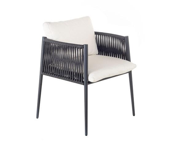 Luce | Chair by Unopiù | Garden chairs