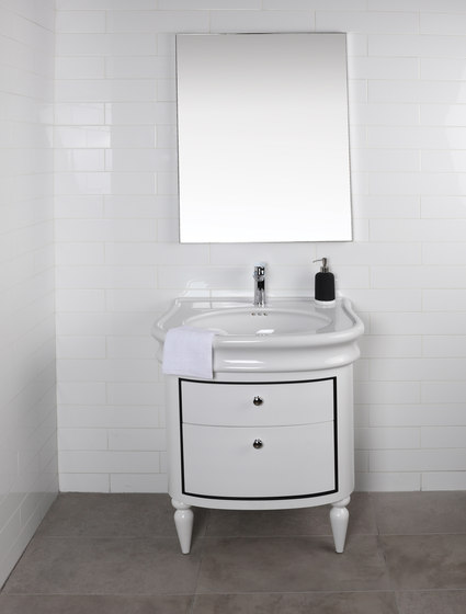 Lirico Undercounter Vanity H251C by Lacava | Vanity units