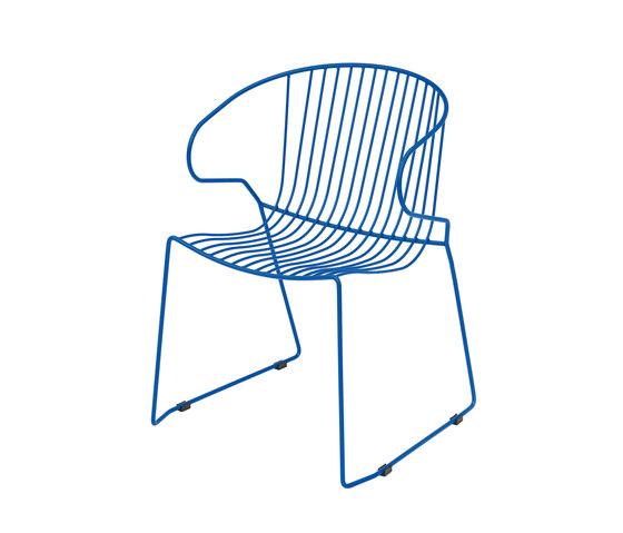 Bolonia Stuhl | Plain blue von iSimar | Mehrzweckstühle