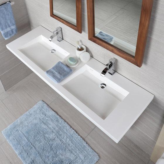 Libera Vanity Top Lavatory 5302S by Lacava | Wash basins