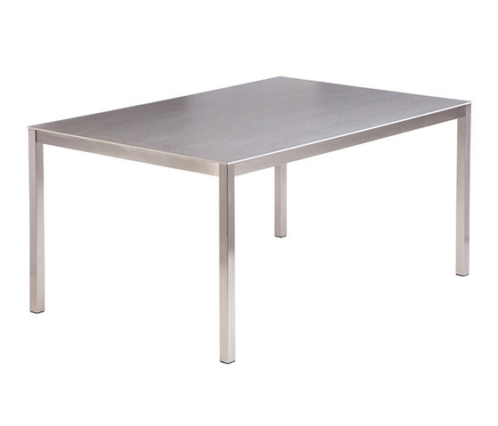 Equinox | Dining Table 150 Rectangular + Ceramic Top de Barlow Tyrie | Mesas comedor