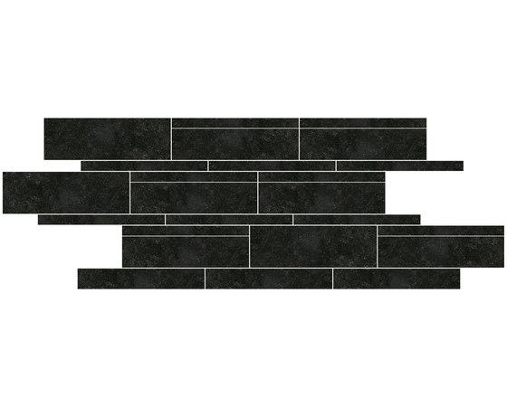 Stroken Noir Belge NE 30 by Mirage | Ceramic tiles