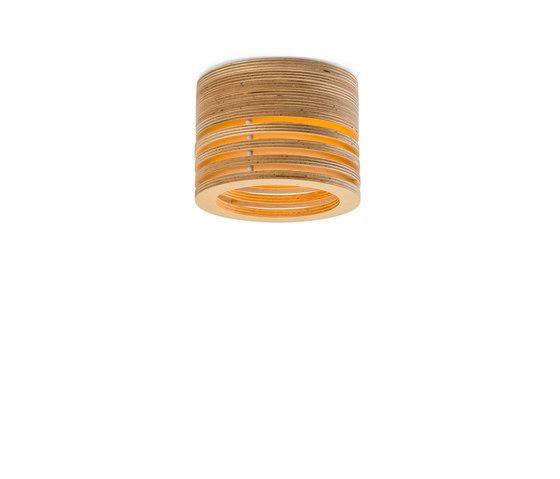 Raita Ceiling Micro Low di Blond Belysning   Illuminazione generale