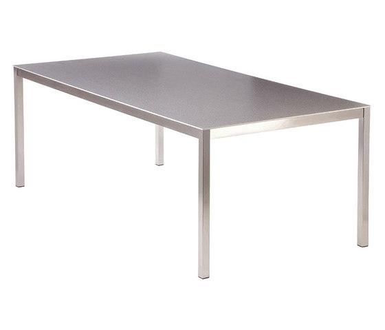 Equinox | Dining Table 200 Rectangular + Ceramic Top de Barlow Tyrie | Mesas comedor