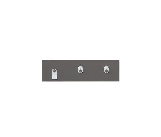 Rack 3   Coffee by Montana Furniture   Hook rails