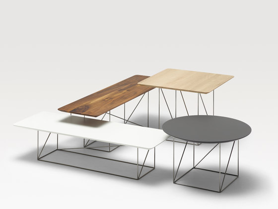 Pilotis occasional tables by COR | Side tables