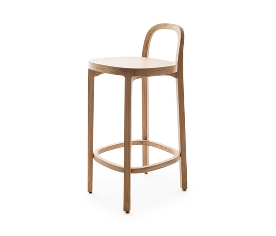 Siro+ | Bar Stool | oak de Woodnotes | Tabourets de bar