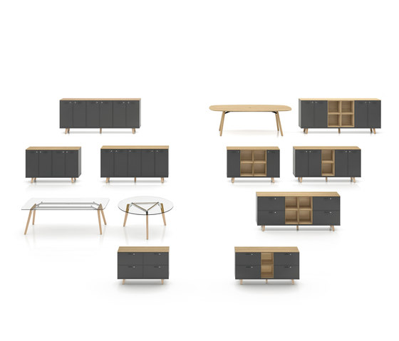 Rail by Bralco | Sideboards
