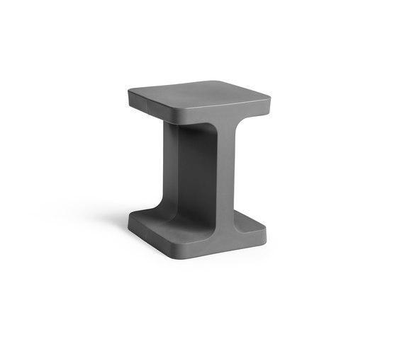S1 grey de Les Basic | Mesas auxiliares