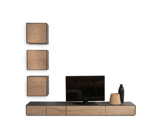 Rialto 2013 Wall Unit de Riva 1920 | Aparadores multimedia
