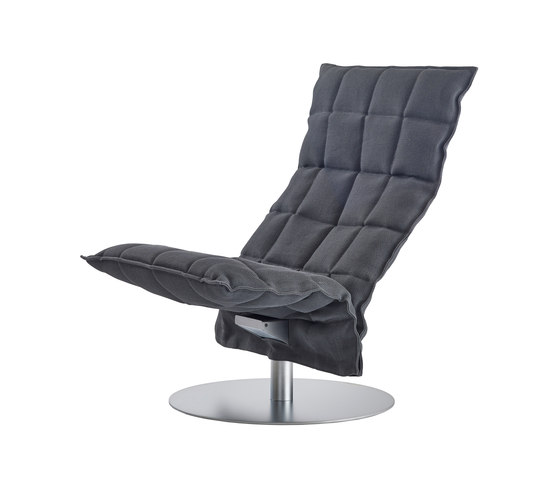 k Chair | narrow | Swivel de Woodnotes | Fauteuils