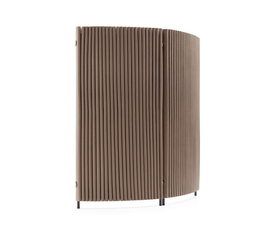 Wave room divider, curved by HEY-SIGN | Folding screens
