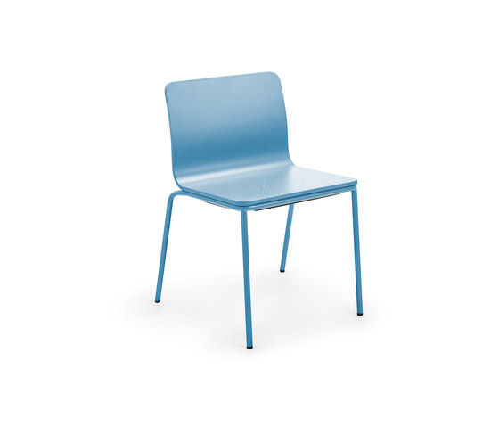 Les Chair blue by Les Basic | Multipurpose chairs