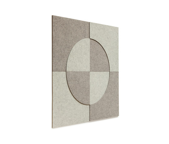 Mural design | Relief-Set 3 by HEY-SIGN | Sound absorbing wall art