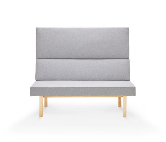Homework sofa (straight), highback (straight) de Les Basic | Sofás