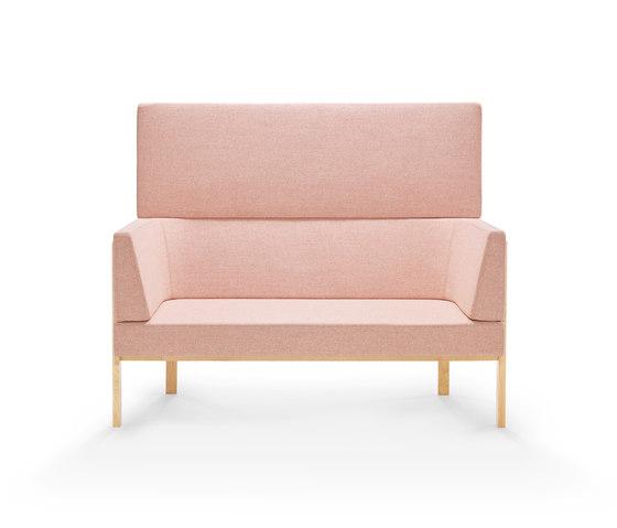 Homework sofa, highback (straight) de Les Basic | Sofás