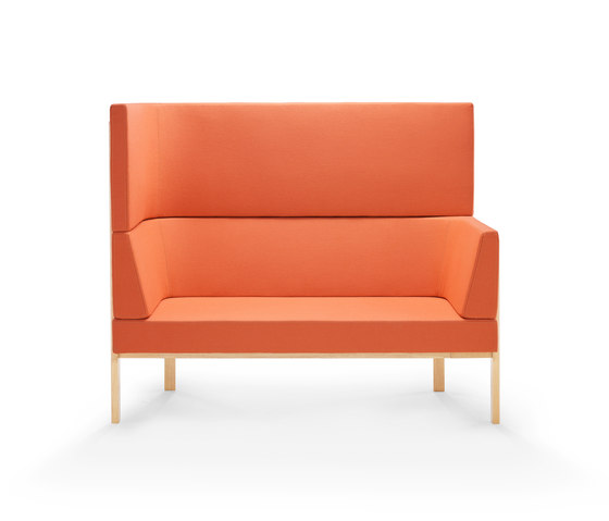 Homework sofa, highback (left) de Les Basic | Sofás lounge