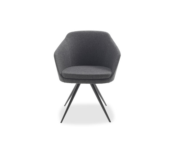 Arm Chair Metal by Riva 1920 | Visitors chairs / Side chairs