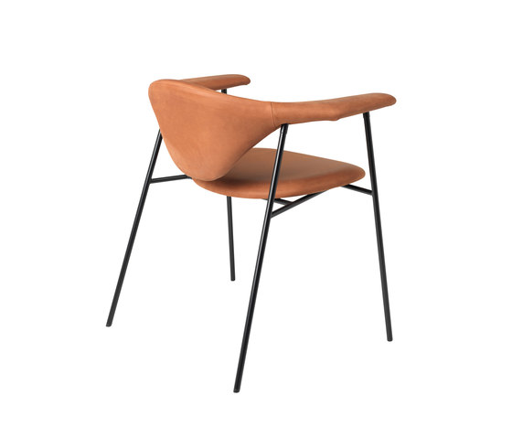 Masculo Chair – 4-legged metal version di GUBI | Sedie