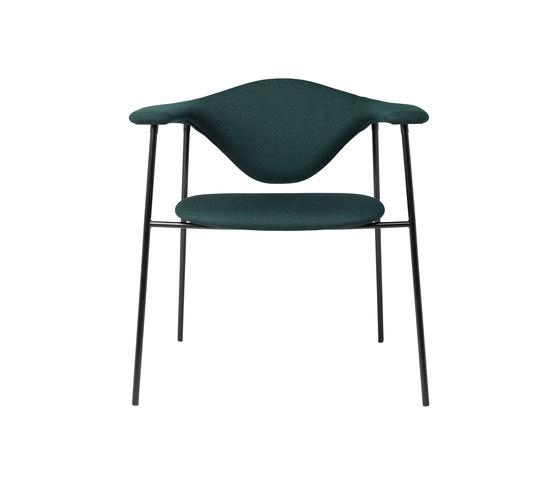 Masculo Chair – 4-legged metal version de GUBI | Sillas