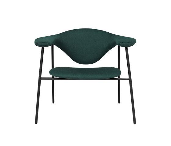 Masculo Lounge Chair – 4-legged metal version de GUBI | Sillones lounge