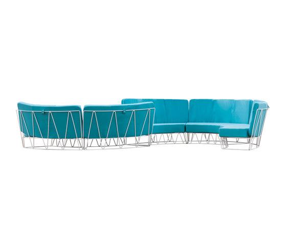 Lagarto Sofa de iSimar | Canapés